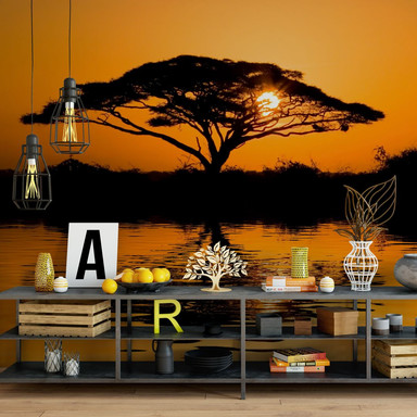 Fototapete - Afrika - 336x260cm - Bild 1