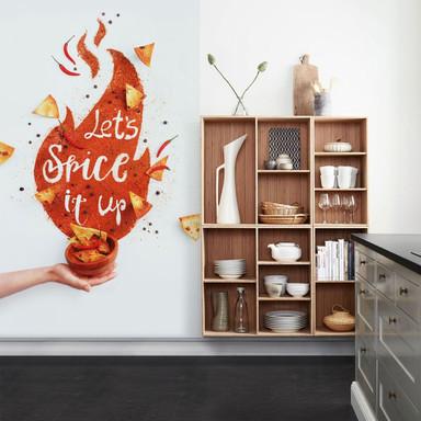 Fototapete Belenko - Let's spice it up - 144x260cm - Bild 1