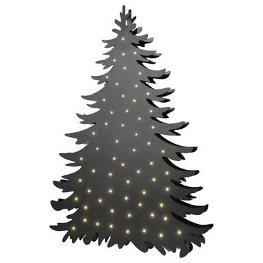 LED Stehleuchte Blacky in Schwarz 3.6W 120lm