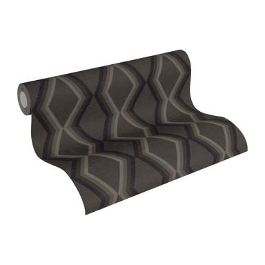 Daniel Hechter Vliestapete geometrische Tapete grau, schwarz