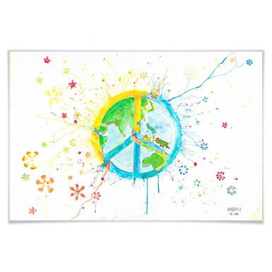 Poster Buttafly - Peace
