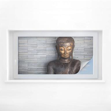 Sichtschutzfolie Thailand Buddha - Panorama 01