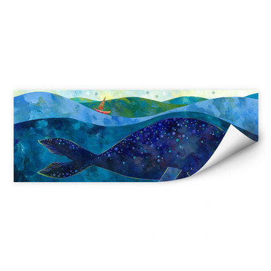 Wallprint Blanz - Der Walfisch
