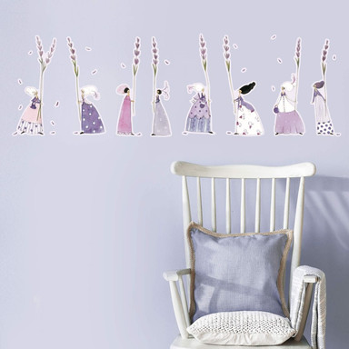 Wandtattoo Leffler - Lavendelfrauen 1