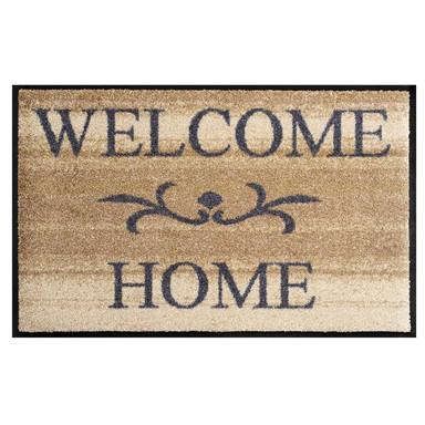 Wash&Dry Fussmatte Welcome Home beige