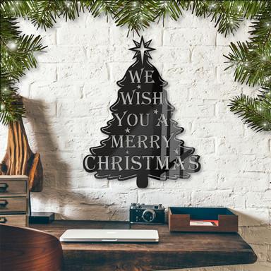 Acryldeko We wish you a merry christmas