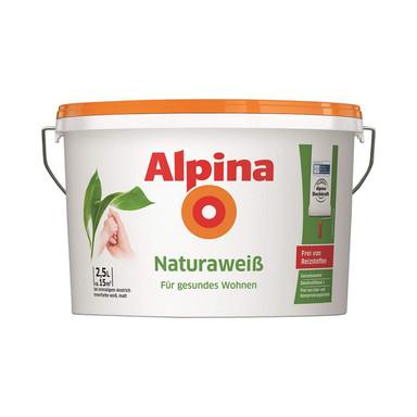 Alpina Naturaweiss Wandfarbe - 2.5 Liter - Bild 1