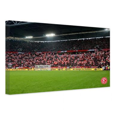 Leinwandbild Fortuna Fans
