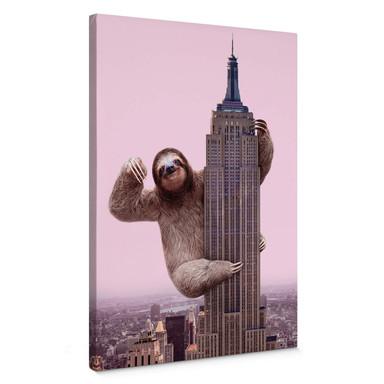Leinwandbild Fuentes - King Sloth