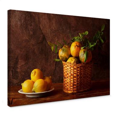 Leinwandbild Laercio - Farmers Lemons