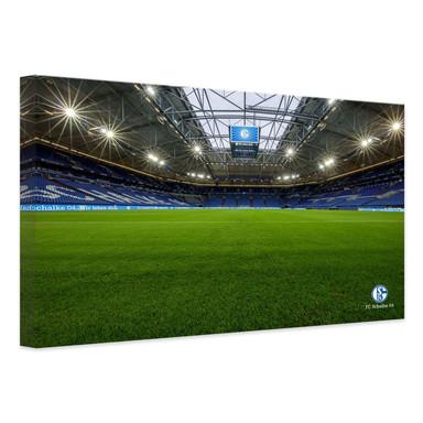 Leinwandbild - Schalke 04 - Arena 03 Innen