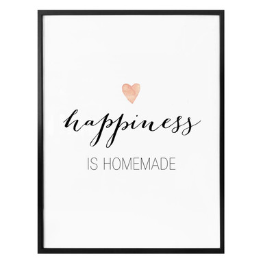 Poster Confetti & Cream - Happiness is homemade