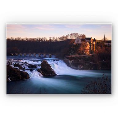 Wandbild Rheinfall