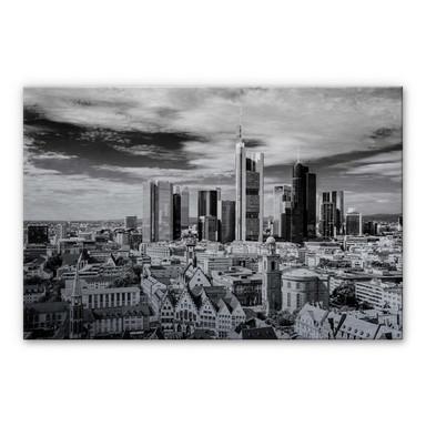 Alu Dibond Bild Frankfurter Skyline
