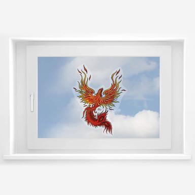 Fensterbild LA Ink Phoenix