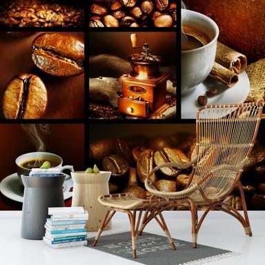 Fototapete Enjoy Coffee - 240x260cm - Bild 1