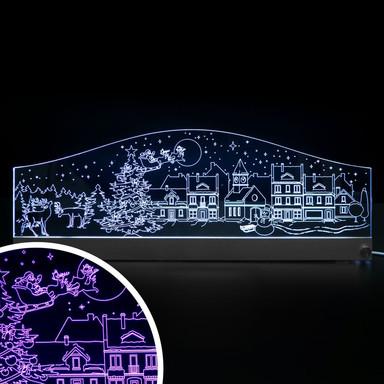 LED Skyline Weihnachen - Bild 1