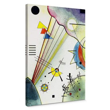Leinwandbild Kandinsky - Deutliche Verbindung