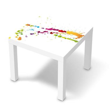 Möbelfolie IKEA Lack Tisch 55x55cm - Splash 2