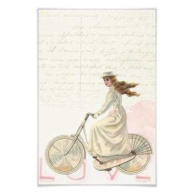 Poster Vintage Girl 02
