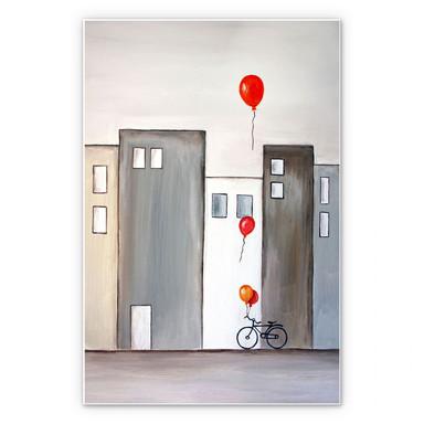 Wandbild Melz - Der Ballonverkäufer