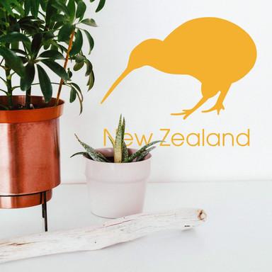 Wandtattoo Kiwi Vogel