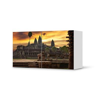 Folie IKEA Besta Regal 2 Türen (quer) - Angkor Wat