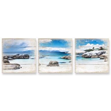 Holzbild Set Western Cape (3-teilig)