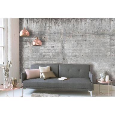 Livingwalls Fototapete Designwalls Concrete Wall in Betonoptik - Bild 1