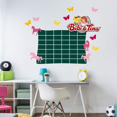 Tafelfolie Bibi&Tina Stundenplan