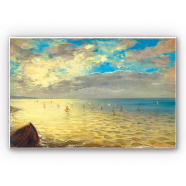 Wandbild Delacroix - Das Meer