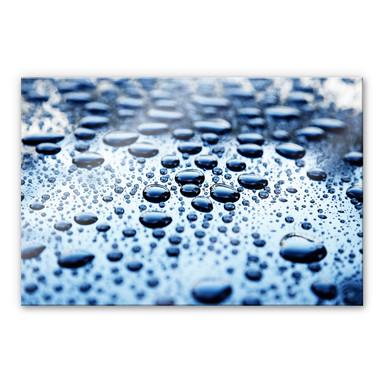Acrylglasbild Waterdrops