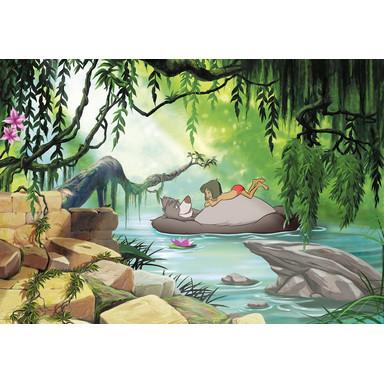 Fototapete Jungle book swimming with Baloo