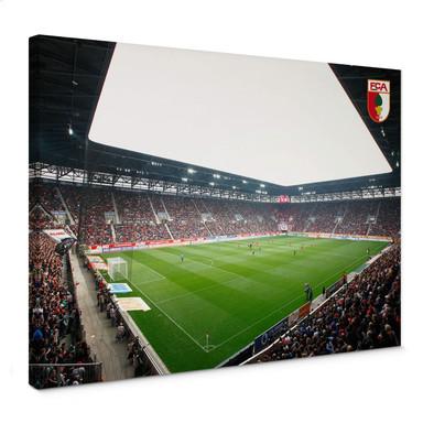 Leinwandbild FC Augsburg Stadion Innenansicht