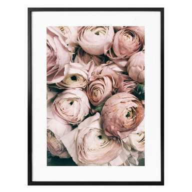 Poster Vintage Blumenstrauss