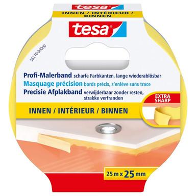 tesa® Profi-Malerband Innen 25m x 25mm - Bild 1