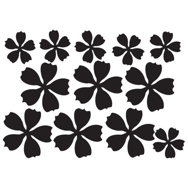 Wandtattoo Blüten-Set 8