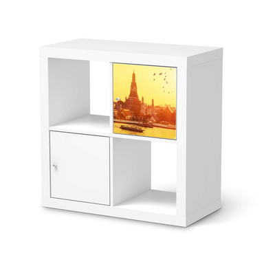 Klebefolie IKEA Expedit Regal Tür einzeln - Bangkok Sunset- Bild 1