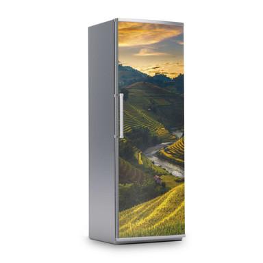 Kühlschrankfolie 60x180cm - Reisterrassen- Bild 1