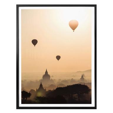 Poster Colombo - Der Morgen über Bagan