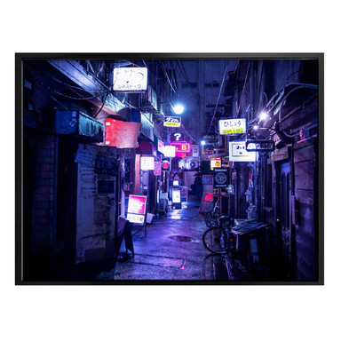 Poster Hugonnard - Nachtleben in Japan