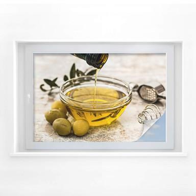 Sichtschutzfolie Olivenöl