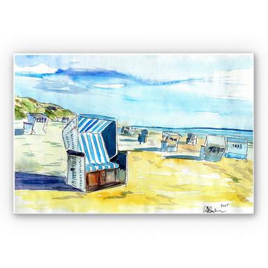 Wandbild Bleichner - Sylter Strand