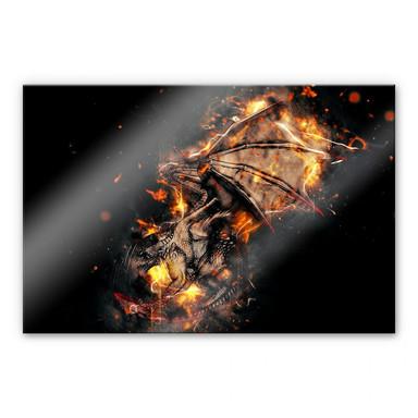 Acrylglasbild Fireflight