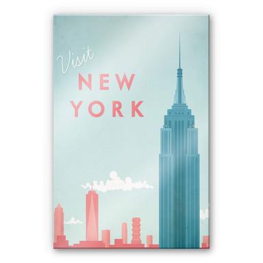Acrylglasbild Rivers - New York