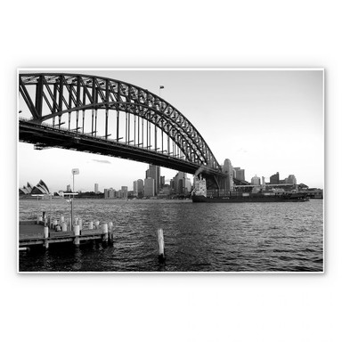 Hartschaumbild Sydney Harbour Bridge