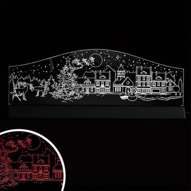 LED Skyline Weihnachten