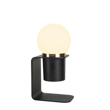 LED Tischleuchte Tonila 2700K Akkubetrieben in Schwarz