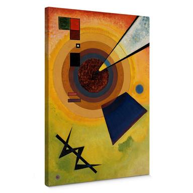 Leinwandbild Kandinsky - Grün und Rot