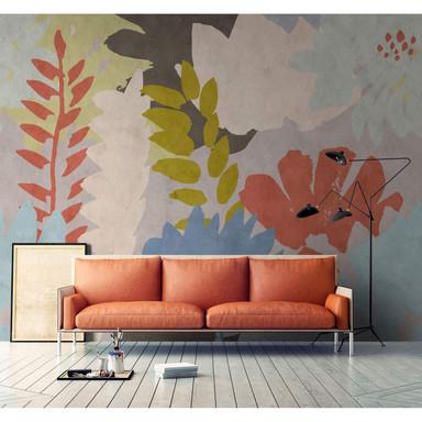 Livingwalls Fototapete Walls by Patel 2 floral collage 3 - Bild 1